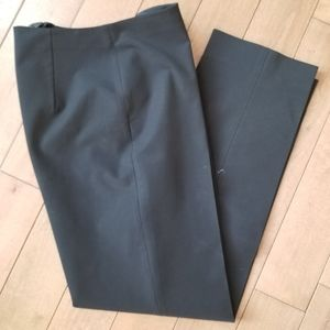 Prada high waist side zip polyester spandex pants